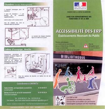 Accessibilité des ERP - DDTM 76
